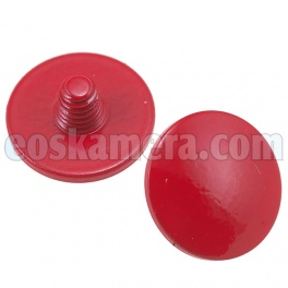 Soft Release Button Red