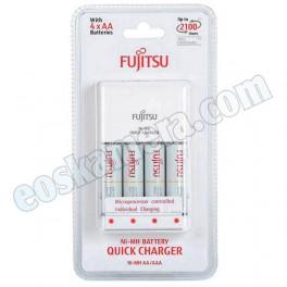 Fujitsu Ni-MH Quick Charger AA 4 Cells
