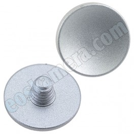 Soft Release Button Silver