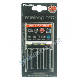 Panasonic Eneloop Pro Smart & Quick Charger AA 4 Cells