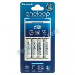 Panasonic Eneloop Basic Charger AA 4 Cells