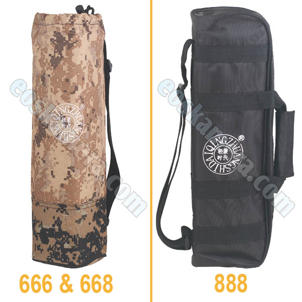Tas Tripod Beike QZSD-666 vs QZSD-668