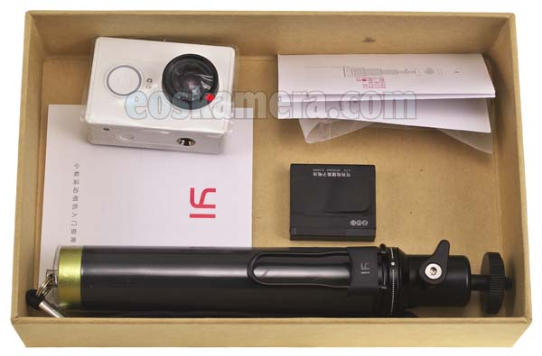 Paket Xiaomi Yi Action Camera Travel Edition