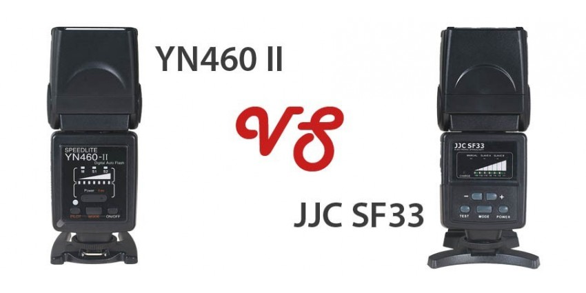 Compare YongNuo YN460 II VS JJC SF33