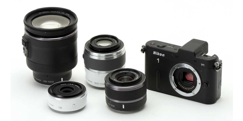 Nikon 1 System Dengan Adapter Lensa Manual